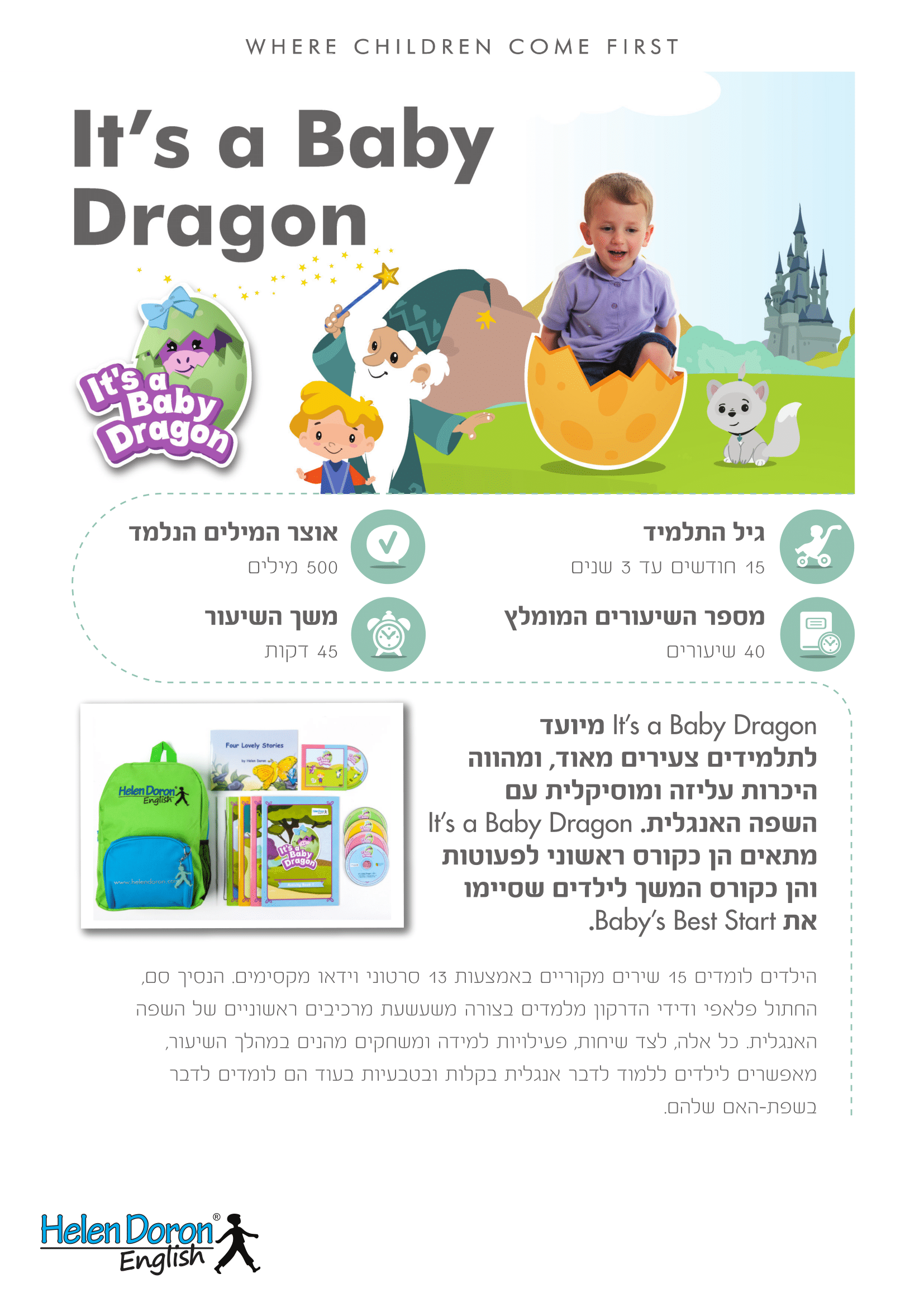 הורדה - It's a Baby Dragon